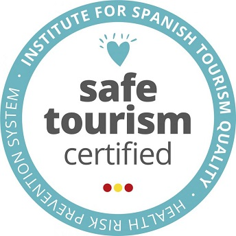 "Sello ""SAFE TOURISM CERTIFIED"" del ICTE 344px"